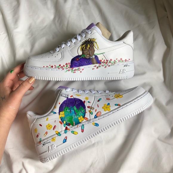 nike AF1 Shoes   Custom Juice Wrld Afs
